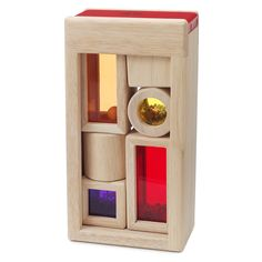 A puzzle, musical toy and art-piece all in one, eco-friendly set, Rainbow Sound Blocks make an exciting, multi-purpose children's toy.