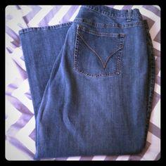 Lane Bryant Venezia Jeans Size 28 Petite Plus size 28 Petite from Venezia Jeans (Lane Bryant). Excellent condition! Tiny amount of pilling on leg hem as shown in 3rd photo. Lane Bryant Jeans