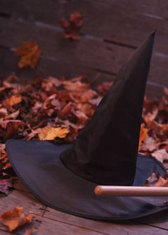 Hmmm... her hat and a broom handle... make up your own story....      ;)