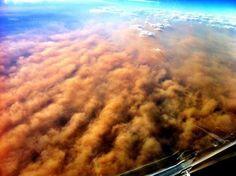 Dust storm, December 2012, Lubbock, Texas