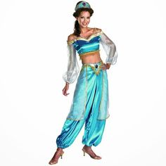 Disfraz Princesa Jasmine de Aladdin | Disfraces Originales