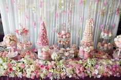 Little Big Company The blog: Beautiful Pink Rose and Floral Themed Celebration for Sienna