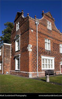 Christchurch Mansion in Christchurch Park Ipswich Suffolk England by Mark Sunderland, via Flickr