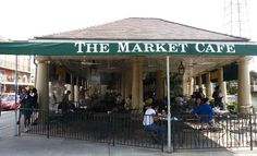 The French Market Cafe. New Orleans, LA.