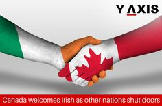 Canada is welcoming #Irish nationals even as other nations are shutting their doors and Citizens of #Ireland below the age of 36 years are also qualified for 2 years Open Work Permits in #Canada. #CanadaWorkVisa #CanadaImmigration #CanadaPR #YAxisVisas
