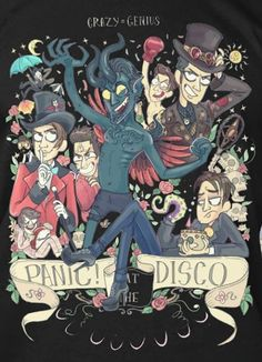 Panic! At The Disco, Death of a Bachelor album, P!ATD fanart