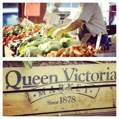 -Queen Victoria Market (Melbourne, Australia) -Australians like to eat fresh so most stores carry local food and their is a huge market for farmers markets/rabbits, foxes, pigs, feral cats and feral goats/ Melbourne Trip, Melbourne Australia, Australia Travel, Melbourne Victoria, Victoria Australia, Perth, Brisbane, Sydney, Places Around The World