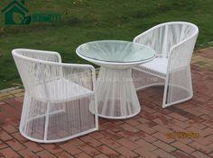 创意家具户外阳台时尚休闲桌椅组合高档圆藤铁艺藤椅子茶几三件套-淘宝网