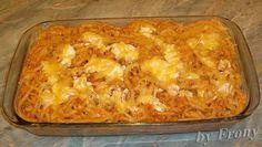 Recepty - Strana 16 z 44 - Vychytávkov Hungarian Recipes, Italian Recipes, Hungarian Food, Pasta Recipes, Cooking Recipes, Chicken Recepies, Lasagna, Macaroni And Cheese, Recipies