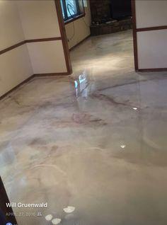 Metallic Epoxy Floor Coatings By Sierra Concrete Arts
