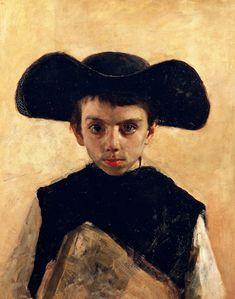 Antonio Mancini  Il Prevetariello- The Little Seminarian