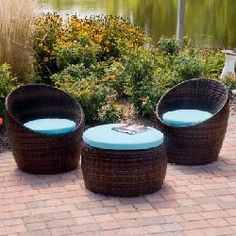 Outback Co. Toulon All-Weather Wicker Patio Set