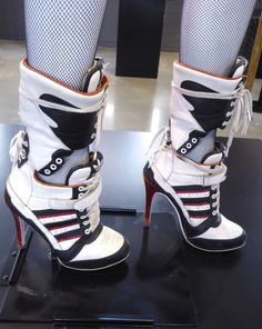 Suicide Squad Harley Quinn Adidas heels