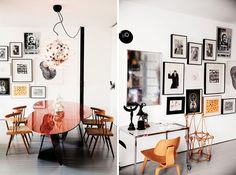 22 Swoon-Worthy Salon Walls You Should Probably Pin via Brit   Co