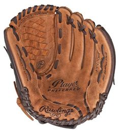 Amazon.com: Rawlings Player Preferred 12-inch Baseball/Softball Pattern Glove, Right Hand Throw (PP120BF): Sports & Outdoors