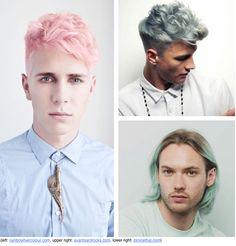 Men With Pastel Hair: Love It Or Hate It?