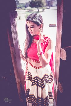 Indian look with Ms Coco Queen  For more: head to the blog.  #indianwear #indianlook #lehenga