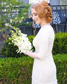 #Perfection! Hair by Wedding Hair by Sorah Yaffa! Book your appointment today with the #hairwiz #DreamBridalShoot