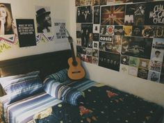My postered private bedroom.