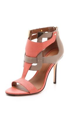 Rachel Roy Larson Cutout Sandals, $275 at ShopBop...a little on the spendy side :)