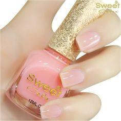 Lovely Light Pink Nail polish.