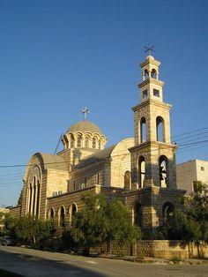 A Greek Orthodox Church in Hama, Syria