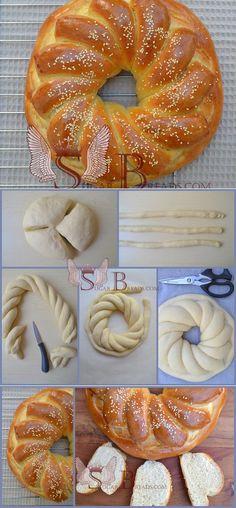 Jelly Recipes, Dessert Recipes, Bread Recipes, Cooking Recipes, Russian Desserts, Sugar Bread, Bread Shaping, Our Daily Bread, Jewish Recipes