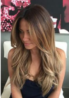 Love this light brown color with medium blonde highlights so much! The bottom half is the perfect bronde! - Great long layers too. ~~Pinterest: Lovelyessmee ☾☮☼