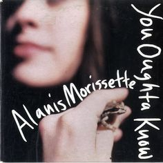 """For Sale - Alanis Morissette You Oughta Know Australia  CD single (CD5 / 5"""") - See this and 250,000 other rare & vintage vinyl records, singles, LPs & CDs at http://eil.com"""