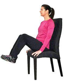 7 exerciții pentru burta lăsată, pe care le puteți face șezând pe scaun! - Fasingur Cardio, Hair Beauty, Gym, Fitness, Sports, Silhouettes, Hs Sports, Excercise, Sport