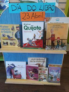 Expositor Día do libro 2018 Anaya, Baseball Cards, Cover, Sports, Books, Art, Don Quixote, Reading, Book