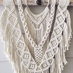 Brave Large macrame wall hanging by WovenWhale on Etsy
