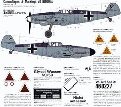 https://flic.kr/p/4vAzQM | (For Aero Modelers) Messerschmitt Bf 109 G Camouflage and Markings (in english and japanese) 01