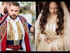 The most traditional wedding of the year - Couple and guests dressed in Cretan costumes . Wedding Of The Year, Folk Dance, Traditional Wedding, Sari, Costumes, Couples, Wedding Dresses, Hair Styles, Youtube