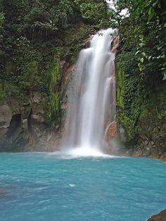 Catarata Rio Celeste, Costa Rica