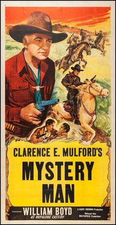 MYSTERY MAN - William Boyd - MOvie Poster.