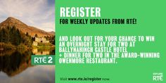 Win a break. Enter competition to be in to win. Competition, Ireland, Irish, Irish Language