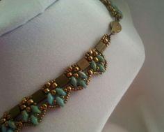 Pinnacle Lace Necklace Tutorial Free Earrings by ElegancebyRenee