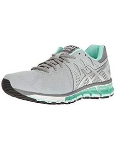 detailed look e0b19 b41c2 ASICS Womens Gel Quantum Running Silver.  Click image for more details.  (This is an affiliate link) Athletic