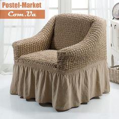 Чехол на кресло Burumcuk слоновая кость Arya. Купить Чехол на кресло Burumcuk слоновая кость Arya в интернет магазине Постель-маркет (Киев, Украина)