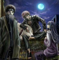 Shino, Kiba and Akamaru, Hinata Naruhina, Naruto Uzumaki, Naruto Sasuke Sakura, Shikamaru, Hinata Hyuga, Naruto Art, Itachi, Anime Naruto, Sasunaru