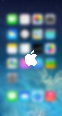 #Apple Bokeh Glitter, Sparkle, Glow Phone Wallpaper - Background