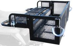 TMS T-ATVCargoCarrier-TSC1205B-1 Rear ATV Storage Rack Drop Down Basket Steel Cargo Carrier with Tail Gate by T-Motorsports. $84.70. From the Manufacturer                A generously deep lower basket hauls items such as 5-gallon buckets or bulky items that require higher walls for added safety                                    Product Description                A generously deep lower basket hauls items such as 5-gallon buckets or bulky items that require hig...