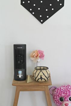 Keeping the kids' bedroom cool in the summer is easy and stylish with Honeywell Slim Mini Tower Sponsored.