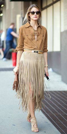 Para se inspirar: Gloria Kalil comenta a moda das franjas nas roupas e acessórios | Chic - Gloria Kalil: Moda, Beleza, Cultura e Comportamento