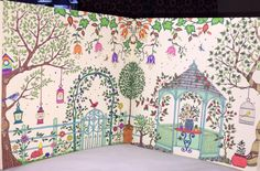 Amazon.com: Secret Garden: An Inky Treasure Hunt and Coloring Book (9781780671062): Johanna Basford: Books