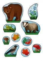 Осенние картинки для украшения поделки сезонного дерева