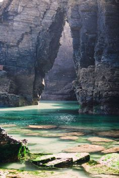 cathedral beach, spain
