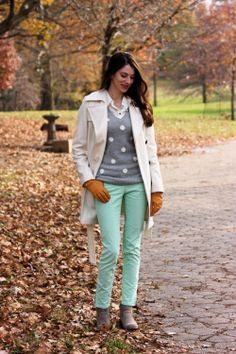 Jeans and a Teacup: Winter Mint in the City
