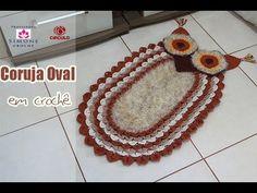 Step by Step Owl Oval crochet - Professor Simone - YouTube